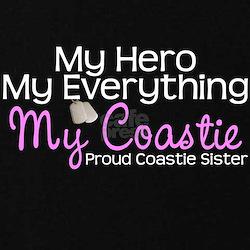 My Everything Coastie Sister T-Shirt