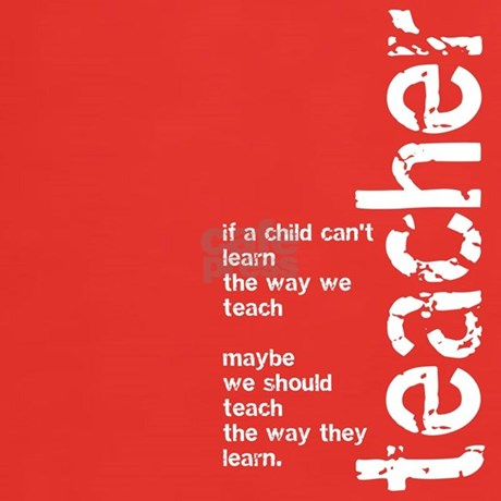 If a Child Can't Learn (White T-Shirt