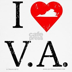 I Love VA T-Shirt