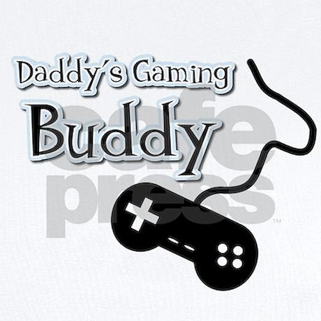 daddy 39 s gaming buddy infant bodysuit by doodles design. Black Bedroom Furniture Sets. Home Design Ideas