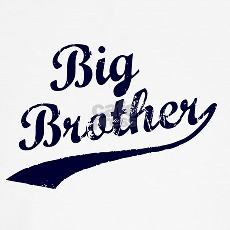 Big Brother Blue Text Tee By Ingender