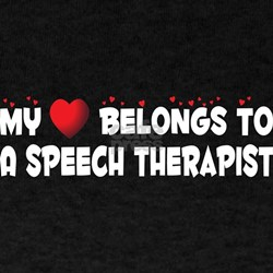 Belongs To A Speech Therapist T-Shirt