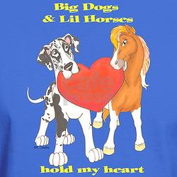 Big Dogs Lil Horses T-Shirt