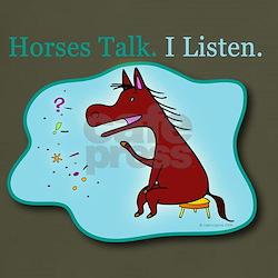 Horses Talk. I Listen.
