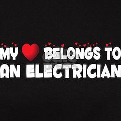 Belongs To An Electrician Tee