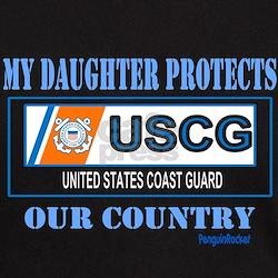 Daughter Coast Guard T-Shirt
