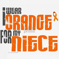 I Wear Orange For My Niece 6 Tee