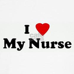 I Love My Nurse Tee