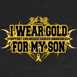 Gold For Son Tribal Shirt