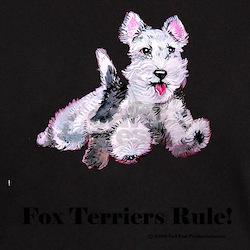 Fox Terrier Agility Dog T-Shirt