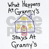 Granny Baby Bodysuits