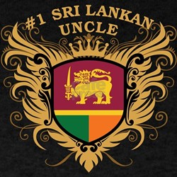 Number One Sri Lankan Uncle T-Shirt