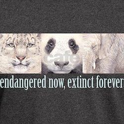 Endangered now, Extinct forev T-Shirt