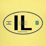 Israel bumper sticker Tank Tops
