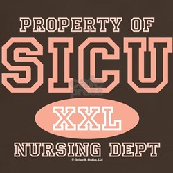 Property of SICU Nurse T-Shirt