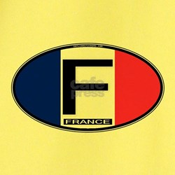 France Oval Colors T