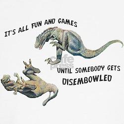 """Fun & Games"" Dryptosaurus Shirt"