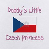Daddys little czech princess Baby Bodysuits