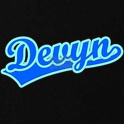 Retro Devyn (Blue) T-Shirt