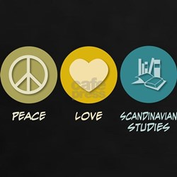 Peace Love Scandinavian Studies Tee