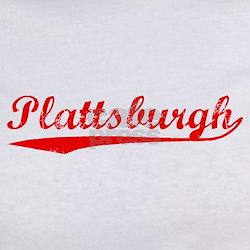 Vintage Plattsburgh (Red) Tee