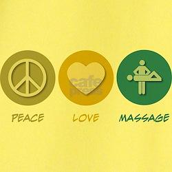 Peace Love Massage T
