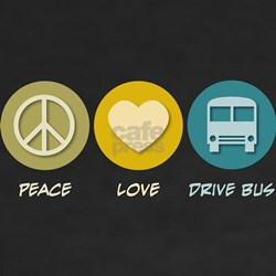 Peace Love Drive Bus Shirt
