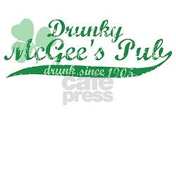 Drunky McGee's Pub - Drunk Since 1905 T-Shirt