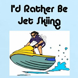 1590 I'd Rather be Jet Skiing T-Shirt