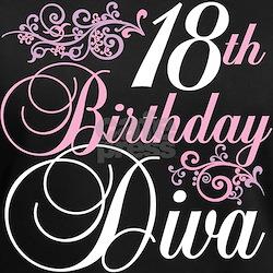 18th Birthday Diva Shirt