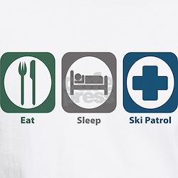 Eat Sleep Ski Patrol Shirt