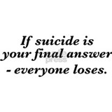 Suicide final answer Mug