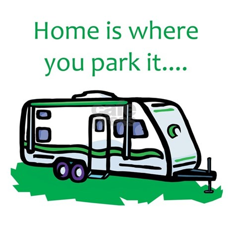Home Is Where You Park It License Plate Frame By