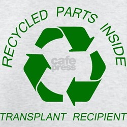 Recycled Parts Inside T-Shirt