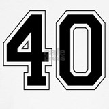 40 T-shirts