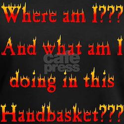 Handbasket Flames Shirt