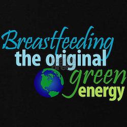Breastfeeding: The Original Green Energy T-Shirt