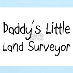 Daddy's Little Land Surveyor T-Shirt