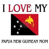 I Love My Papua New Guinean Mom Mug