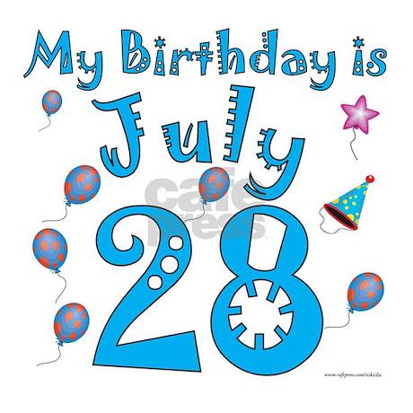 28th july: