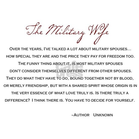 The Military Wife Poem Postcards (Package of 8) by