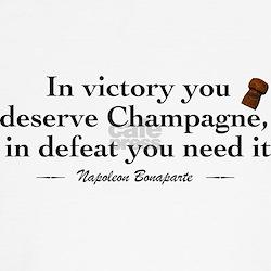 Napoleon Wine Quote T-Shirt