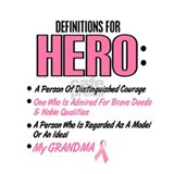 Definition Of Hero 2 Pink (Grandma) Mug