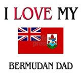 I Love My Bermudan Dad Mug