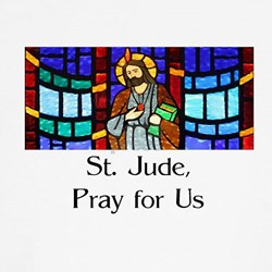 St. Jude Stained Glass Shirt