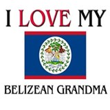 I Love My Belizean Grandma Mug