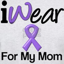 Purple Ribbon Mom T-Shirt