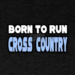 """Born to Run Cross Country"" T-Shirt"