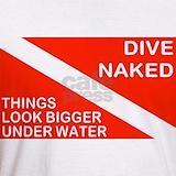 Dive naked T-shirts