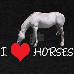 I Heart (Love) Horses T-Shirt